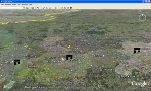 Google Earth Zeitachse